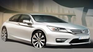 Honda Accord нового поколения с новым дизайном и в новой комплектации