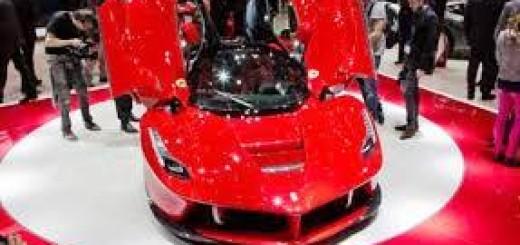 Ferrari LaFerrari 2014 технические характеристики суперкара