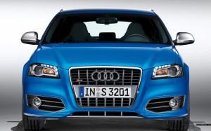 Audi S3 sedan 3D с новой решеткой радиатора S3