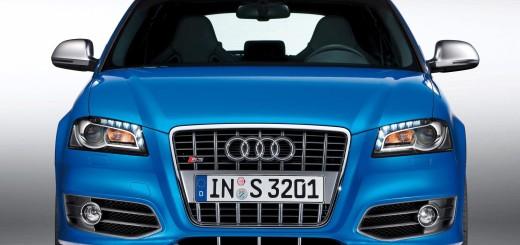 Audi S3 sedan 3D 2013 с новой решеткой радиатора S3