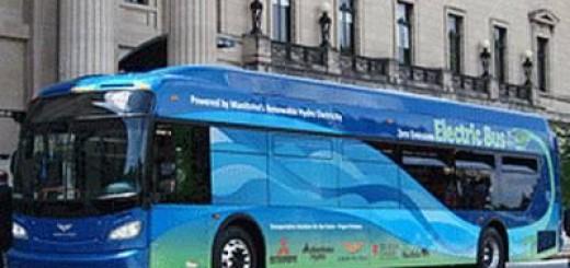 Электроавтобус Mitsubishi Heavy Industries нового поколения
