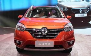 Renault Koleos тест-драйв автомобиля нового поколения