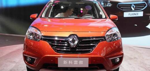 Renault Koleos 2013 тест-драйв автомобиля нового поколения