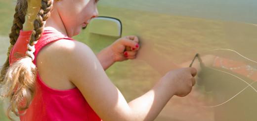Восстановление лакокрасочного покрытия автомобиля без покраски