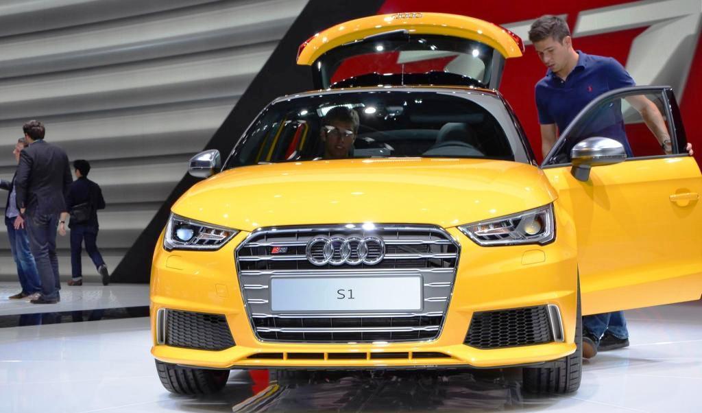 Audi S1 технические характеристики - Женевское моторшоу 2014