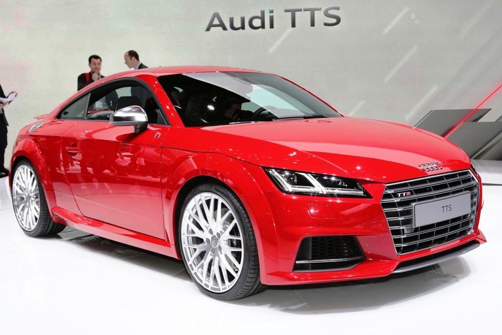Audi TTS - технические характеристики нового купе в Женеве
