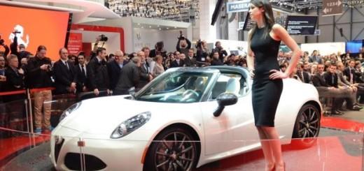 Alfa Romeo 4C Spider технические характеристики