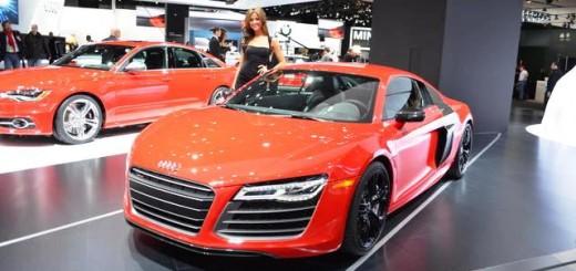 Audi R8 V10 2014 технические характеристики - Женевский автосалон