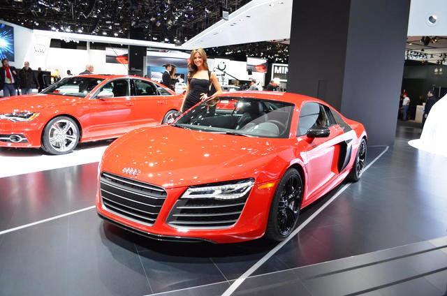 Audi R8 V10 технические характеристики - Женевский автосалон