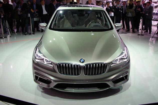 BMW 218i Active Tourer технические характеристики - Женевское автошоу