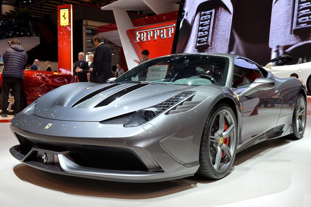 Ferrari 458 Speciale характеристики