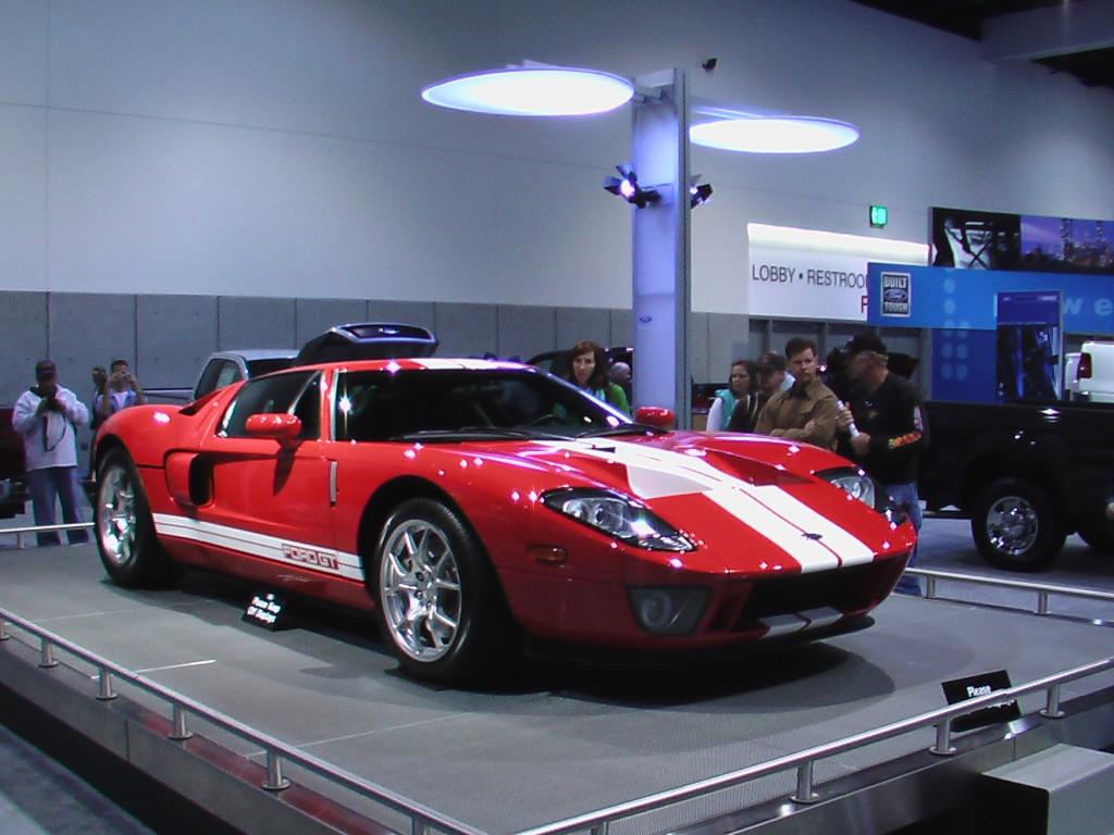 Ford GT40 - технические характеристики
