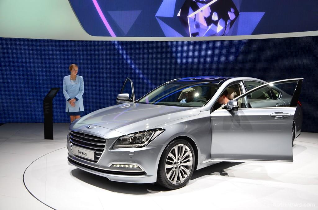 Hyundai Genesis технические характеристики - Женевское автошоу