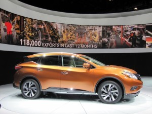 Nissan Murano технические характеристики 2015