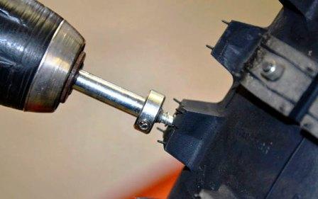Установка шипов на шины своими руками