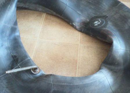 Заклейка поврежденного колеса