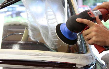 Полировка лобового стекла своими руками в домашних условиях, в гараже