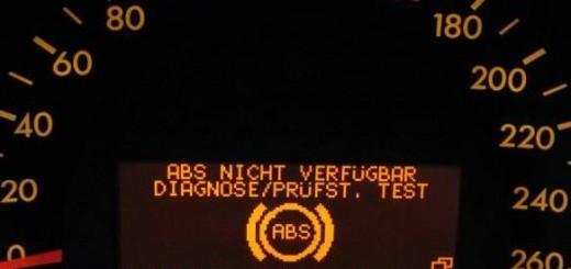 Загорелась лампочка ABS, что делать в таких случаях