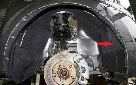 Что такое локер в автомобиле - подкрылок