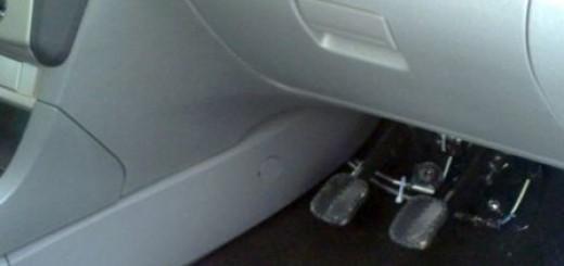 Зачем нужны дублирующие педали на учебном автомобиле