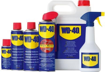 Что такое WD-40? Места и способы применения