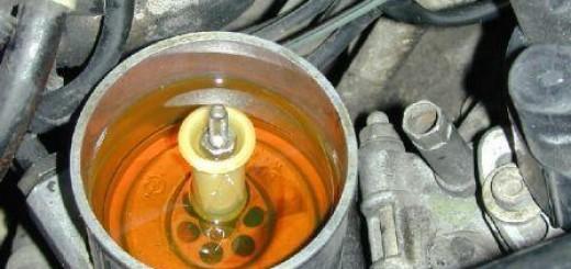 Замена масла в гидроусилителе руля: советы и рекомендации