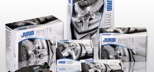 Керамические тормозные колодки Jurid WHITE от фирмы HONEYWELL