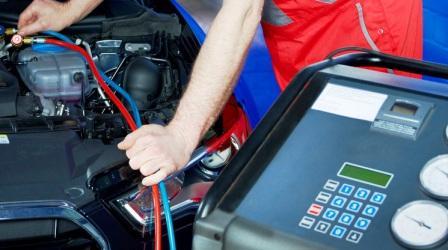 Обслуживание кондиционеров автомобиля