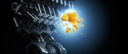 Моторное масло для автомобильного двигателя