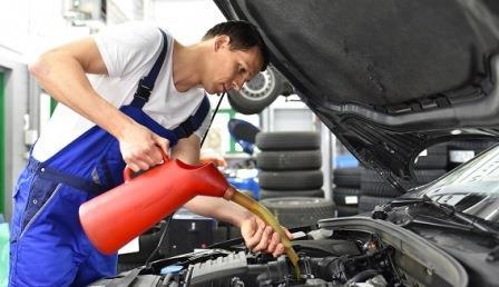 Моторное масло современных автомобилей