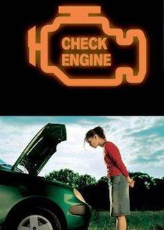 check engine что это