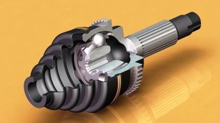Конструкционная особенность гранаты (ШРУС)